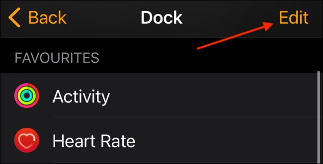 تنظیمات دکمه کناری اپل واچ