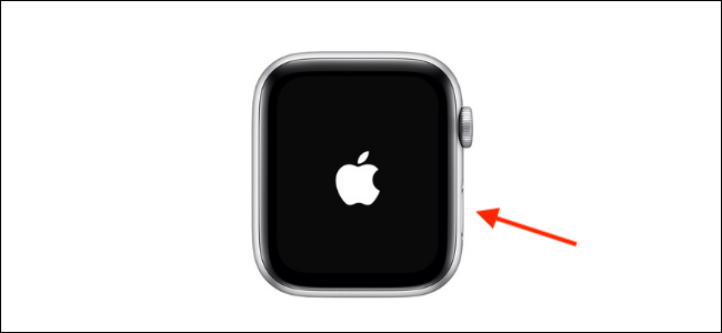 Turn on Apple Watch Using Side Button