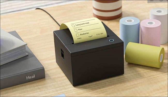 amazon alexa thermal printer