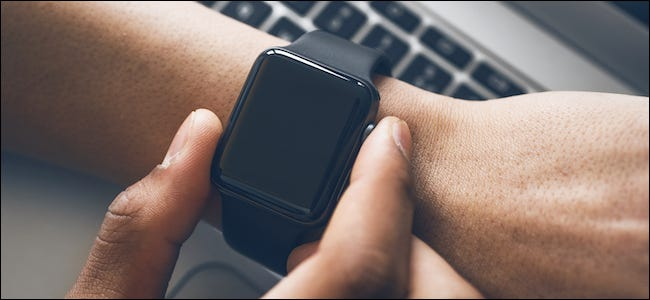 Apple Watch User Turning off Their Smartwatch