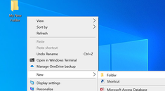 How to Change the Default New Folder Name in Windows 10