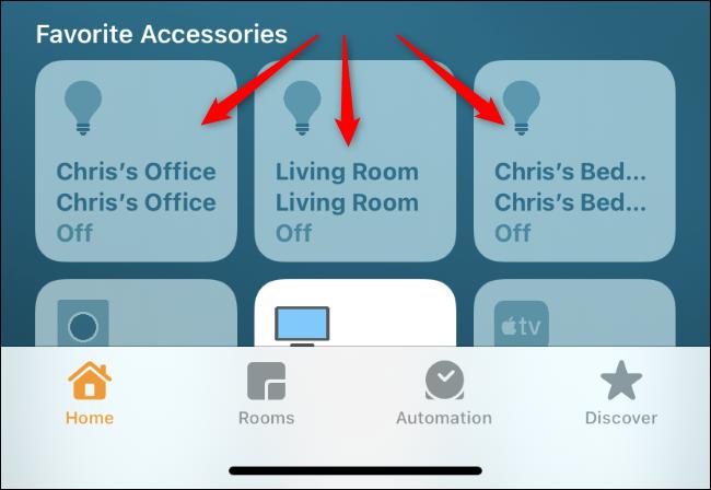 Long press a light tile in the Home app.