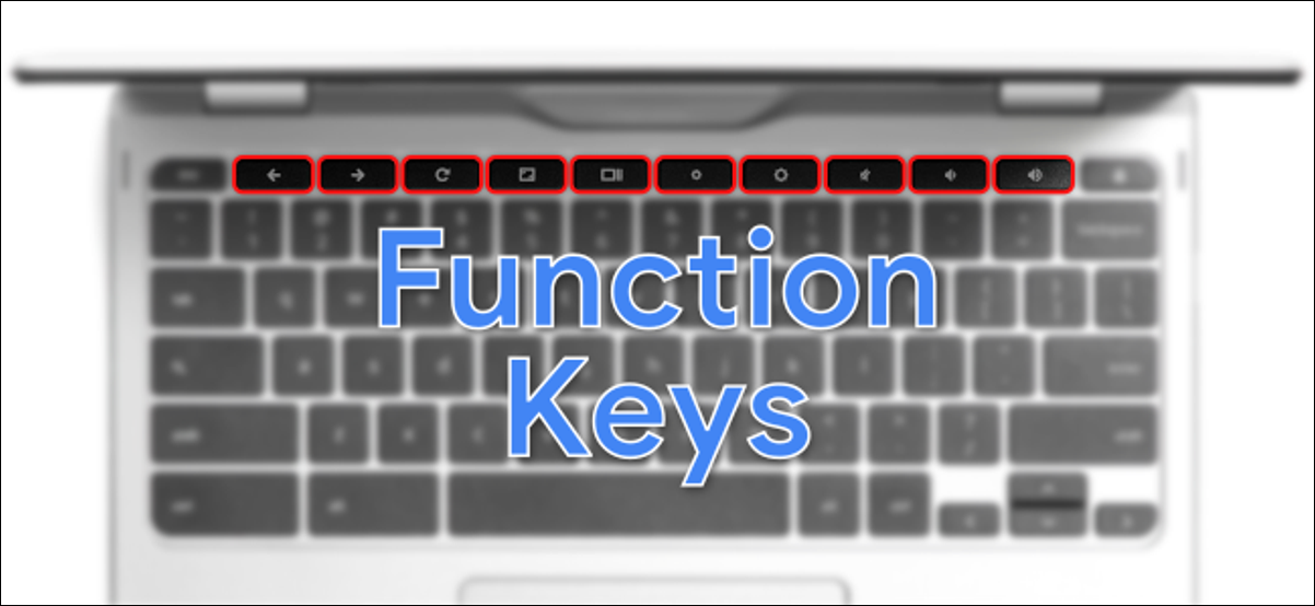 chromebook function keys