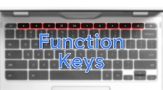 How to Use Function Keys on a Chromebook Keyboard