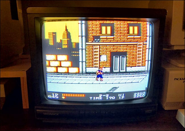 Double Dragon on the NES
