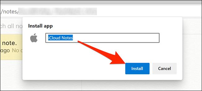Instale la aplicación Notes en Edge
