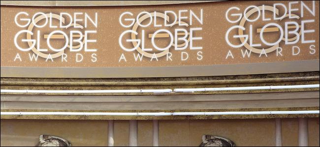 Golden Globe Awards signage