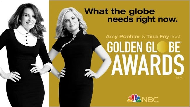 Golden Globes on NBC