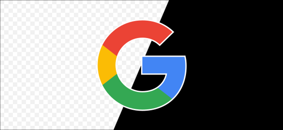 google logo with transparency