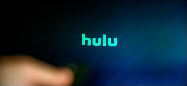 Logo Hulu na telewizorze Smart TV