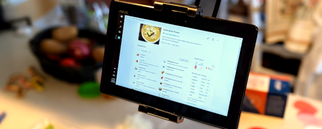 Got an Old Tablet? Put It to Work in the Kitchen