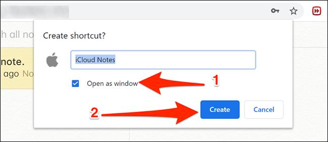 Configure Notes app in Chrome