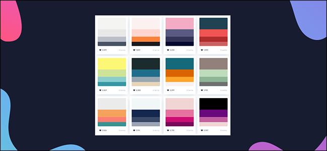 find a color palette