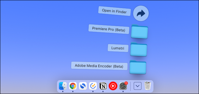 Add folders to Mac dock