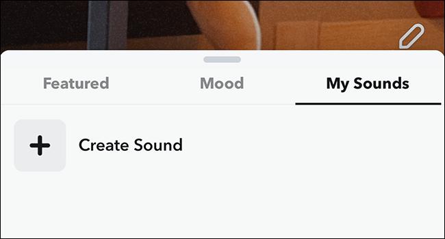 snapchat my sounds
