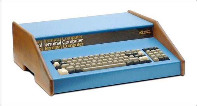 A Sol-20 personal computer from 1976.