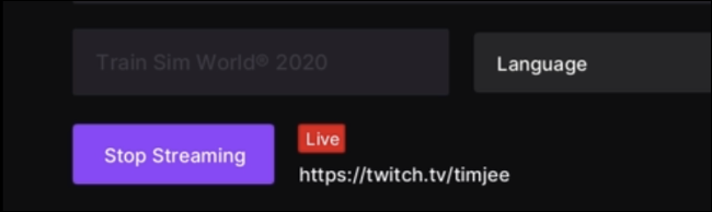 Stop Streaming in Twitch for Xbox