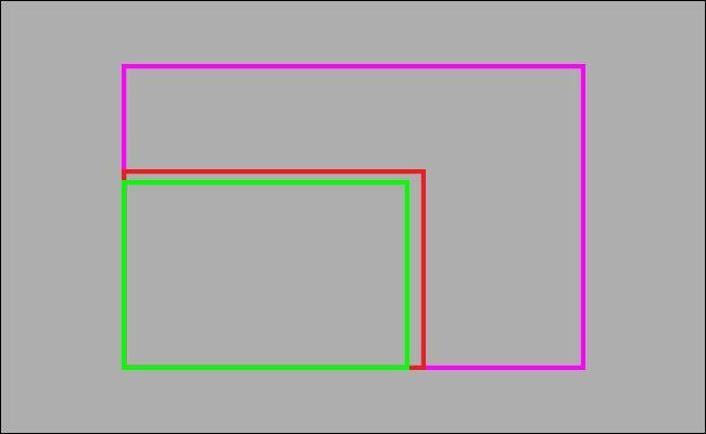 graphic showing size of APS C vs full frame