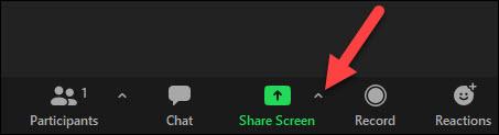 share screen arrow icon