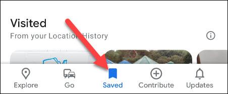 saved tab