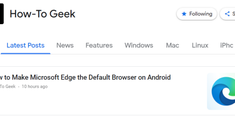 How-To Geek Is Now on Google News