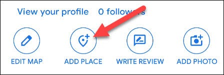 add place button
