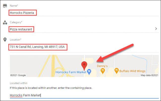 add location information