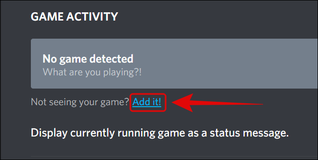 Add a New Game to the Game Activity