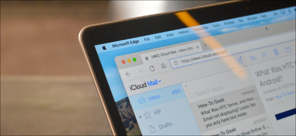 Apple User Using iCloud Mail in Third Party Browser