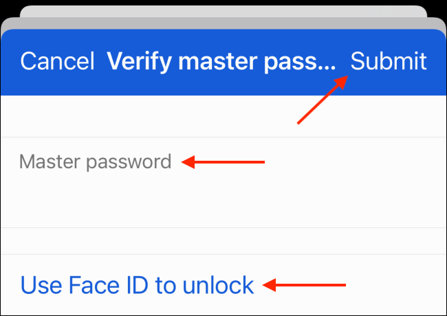 Authenticate Third Party Password Manager