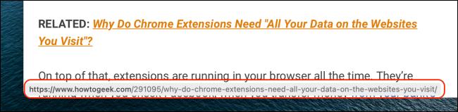 Xem trước URL trong Safari dành cho Mac