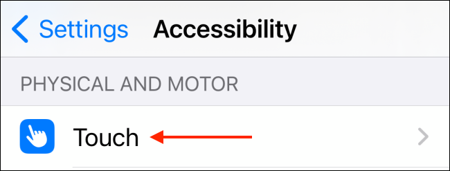 Tap Touch from Accessibility