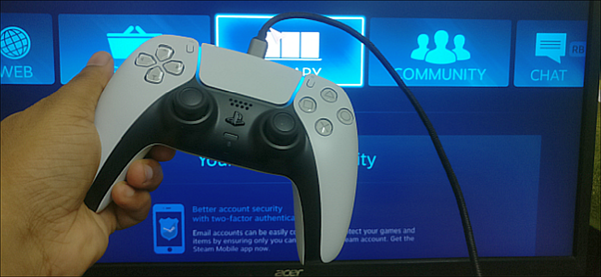 Use o controlador PS5 no Windows 10