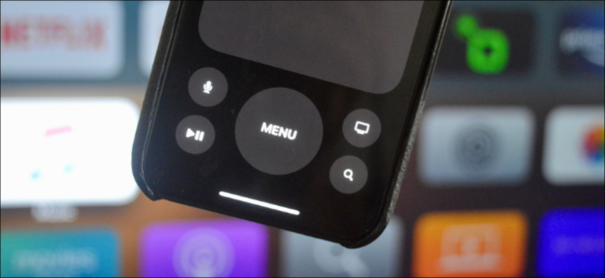 Using Apple TV Remote on iPhone