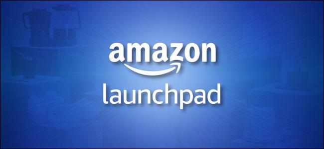 Amazon Launchpad Logo on blue background