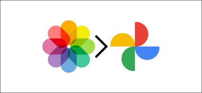 apple photos and google photos logos