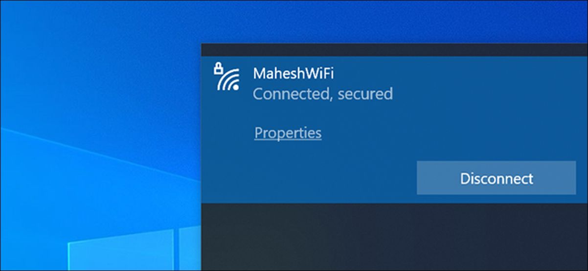 Check the Wi-Fi signal strength in Windows 10