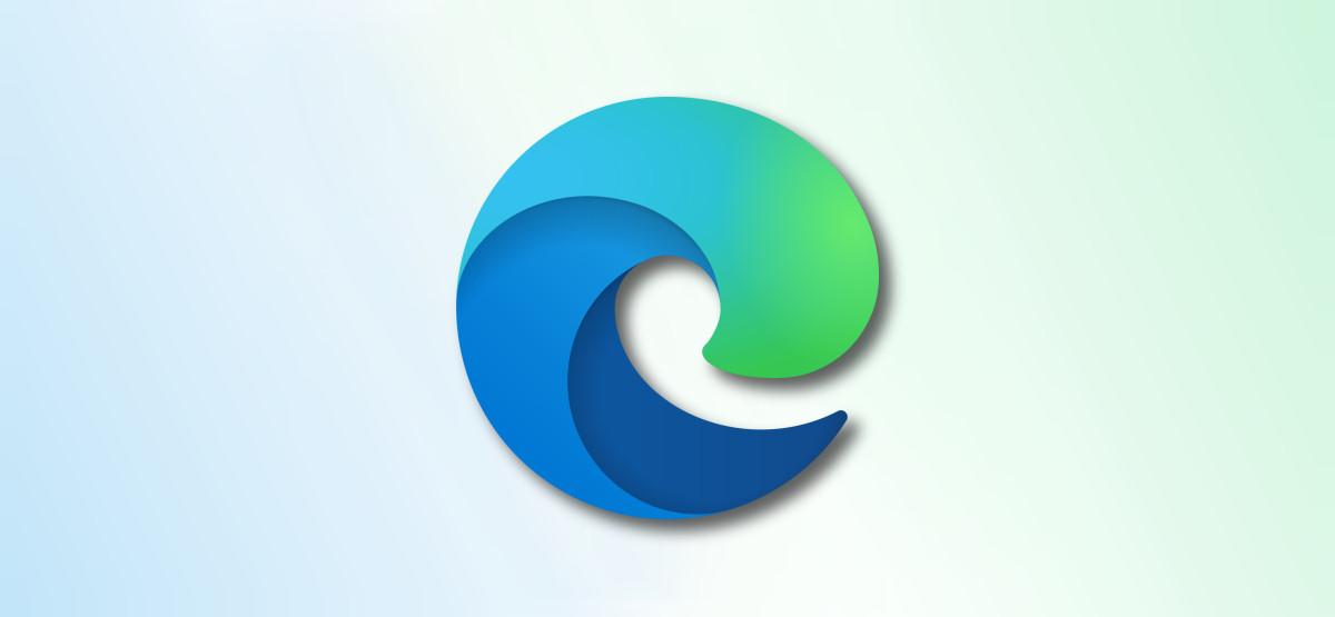 Edge logo on faded colors