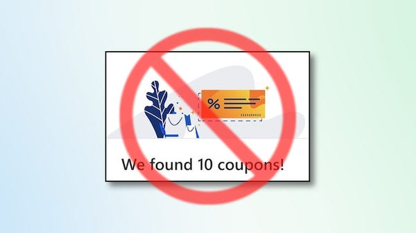 How to Turn off Online Shopping Coupons in Microsoft Edge