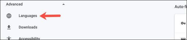 Visita le Impostazioni avanzate su Google Chrome