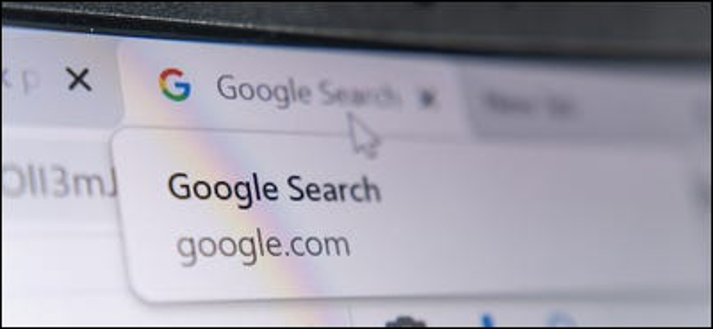 Etichetta Ricerca Google nel browser Chrome