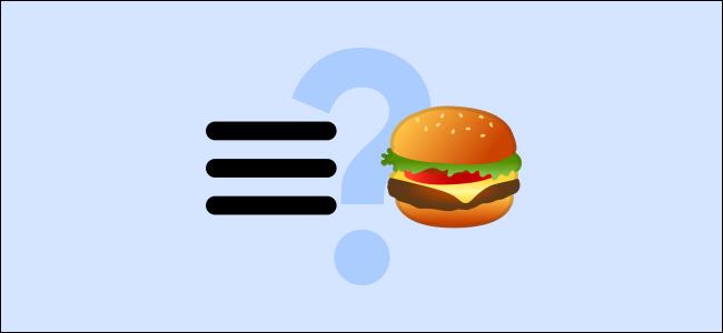 What Is a Hamburger Menu Button?