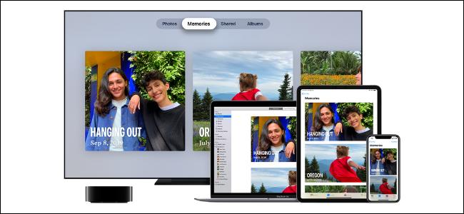 Функция iCloud Photos на устройствах Apple