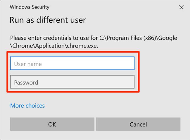 Enter user logins