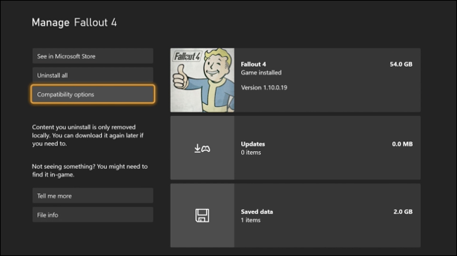 Manage Game Add Ons via Xbox Dashboard