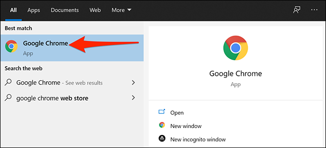 Ejecuta Chrome