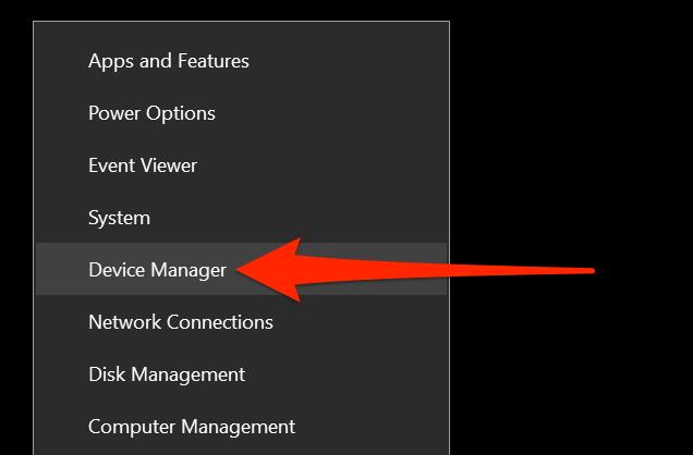 Start button's context menu
