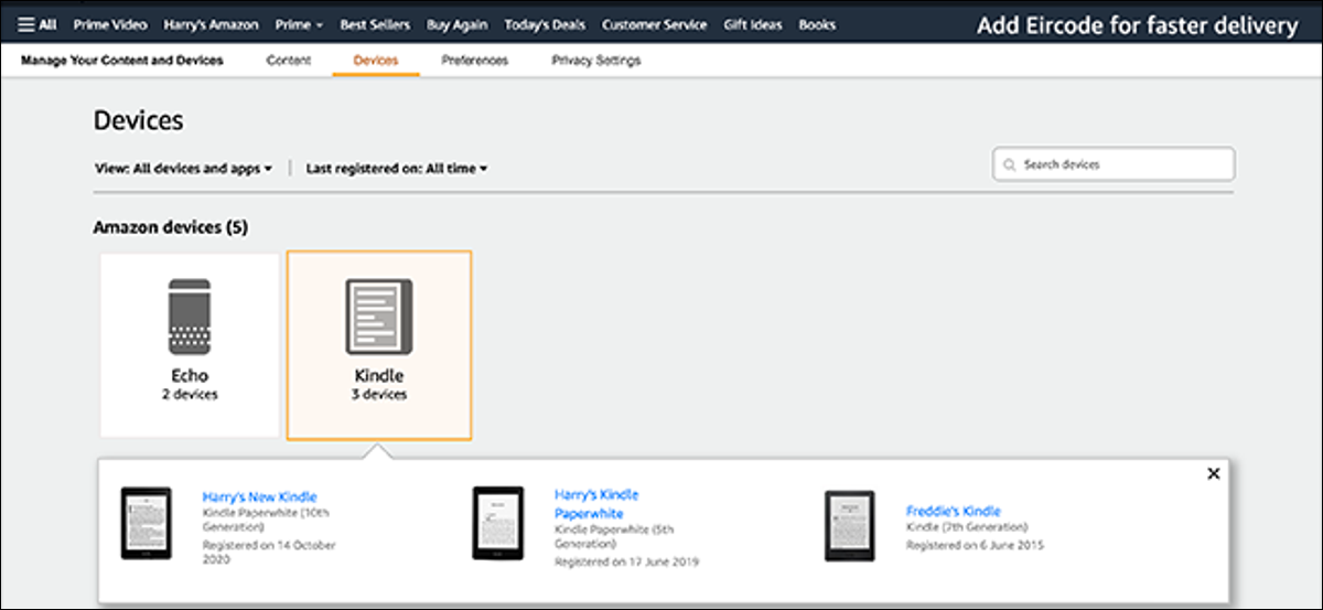 preview image of kindle list
