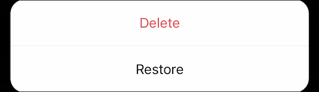 Delete or Restore deleted content on Instagram