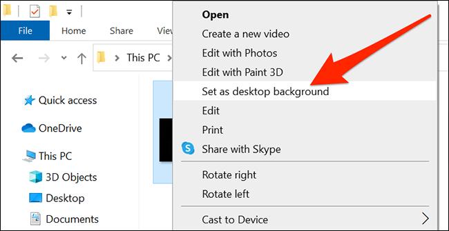 Revert back to the original Windows 10 desktop wallpaper